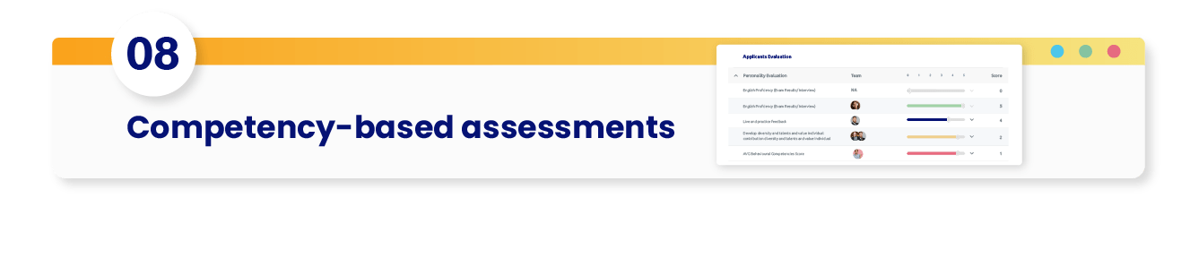 video assessments