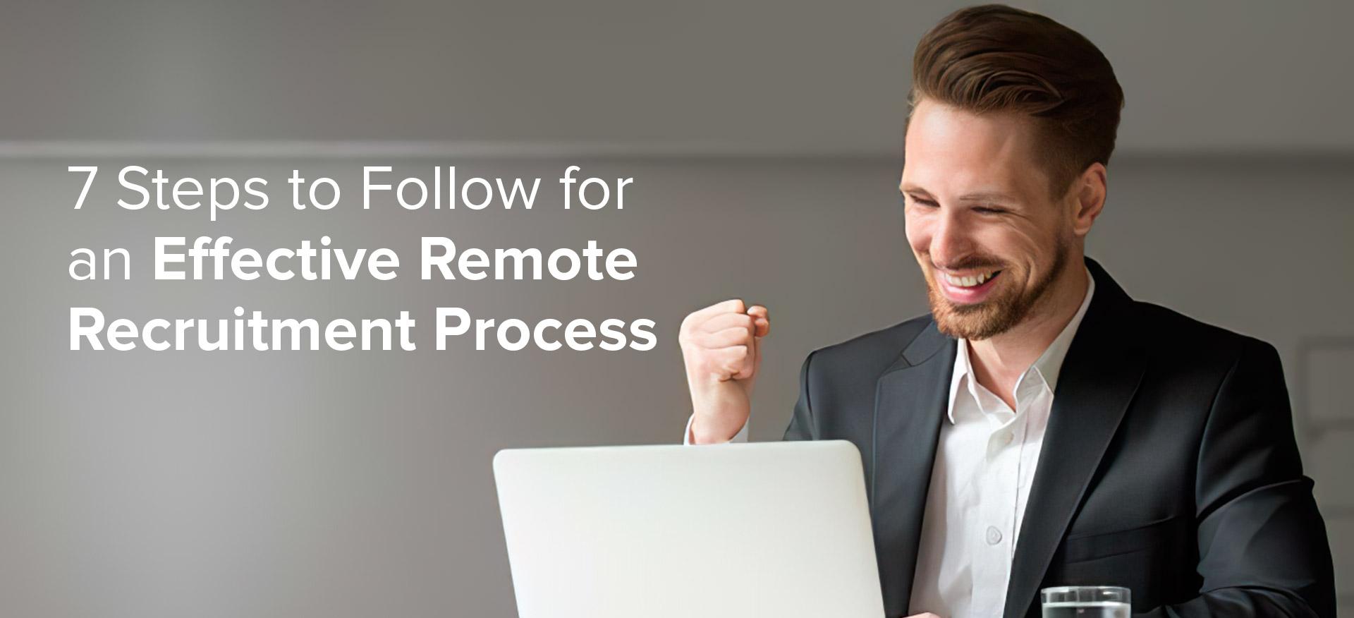 remote recruitment process