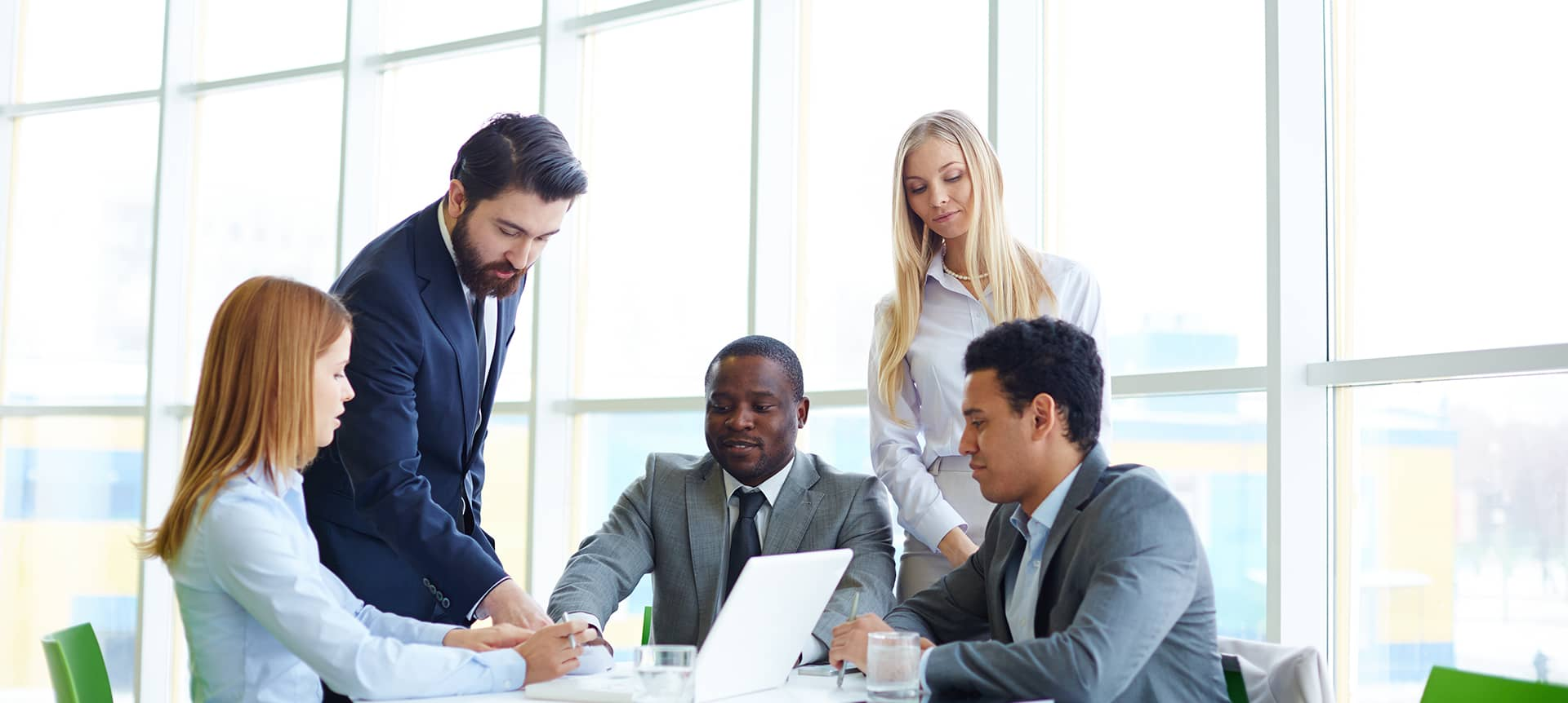 A group of recruiters working together to achieve hiring success