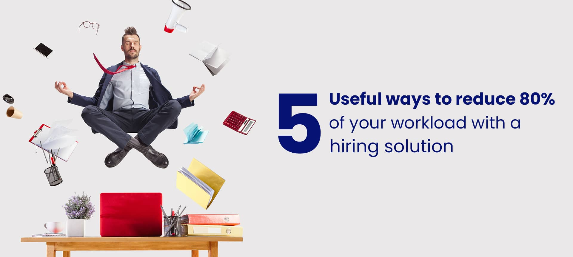A picture of a recruiter that successfully reduce his workload with a hiring solution