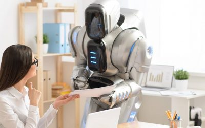 A recruiter working with AI to uproot the hiring process