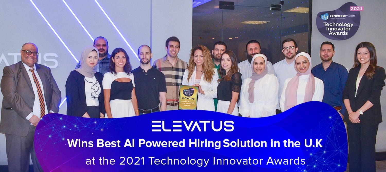 Elevatus wins Best AI-Powered Hiring Solution