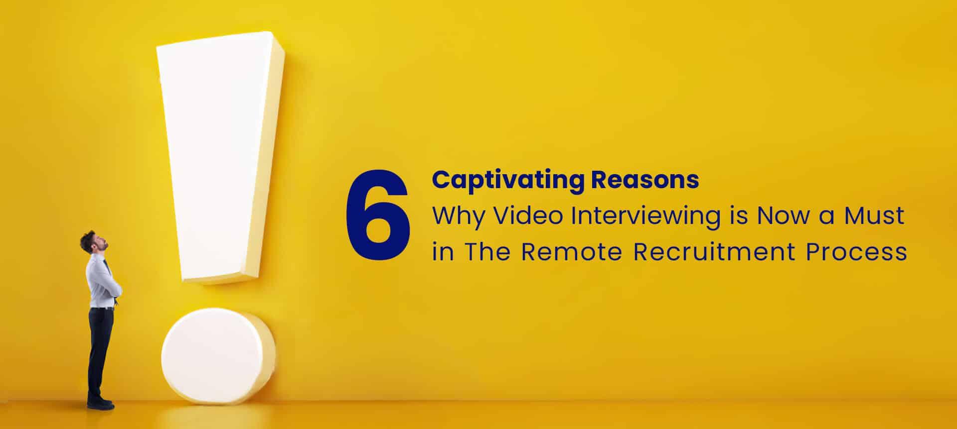 recruiter focusing on remote recruitment