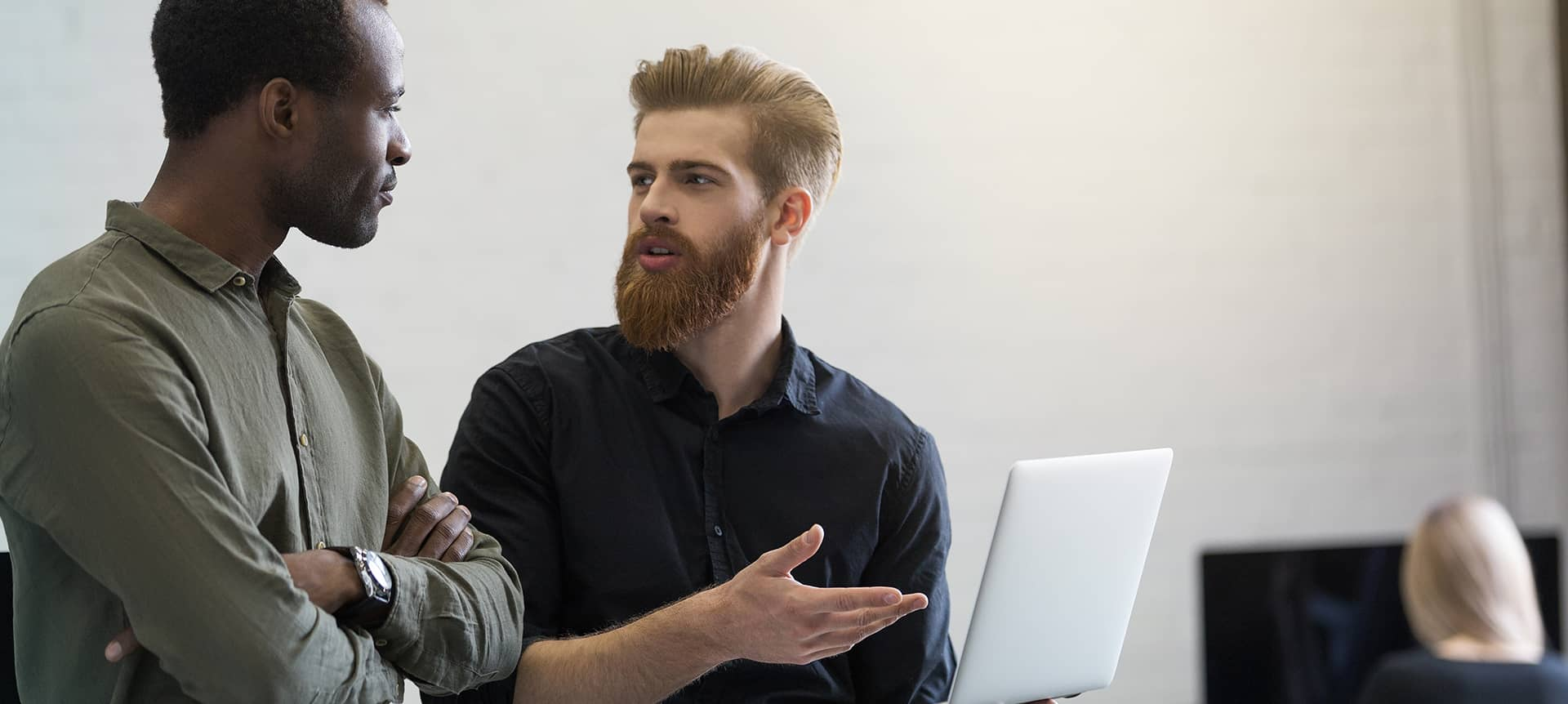 candidates using video interviewing software
