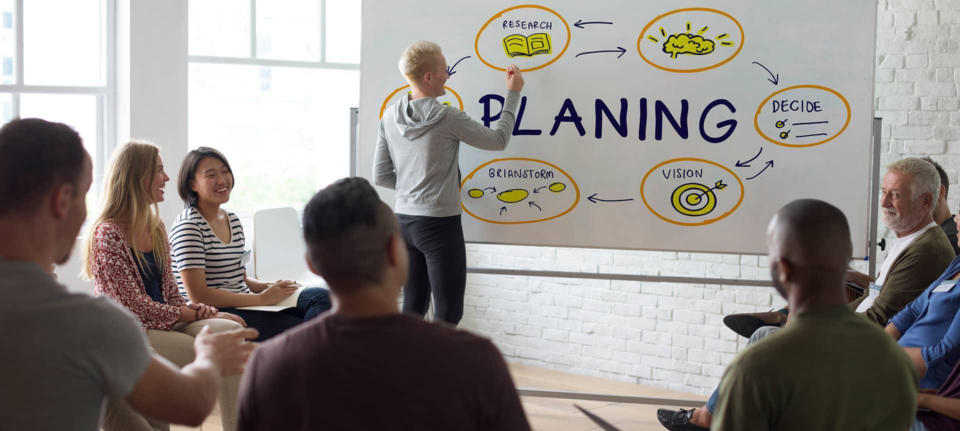 HR team building the employer brand