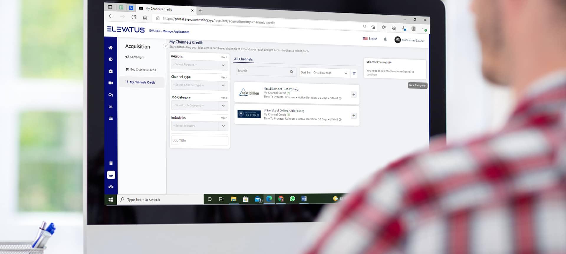 recruiter using 2,000+ job boards